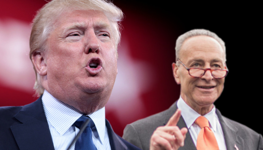 President Trump and Chuck Schumer