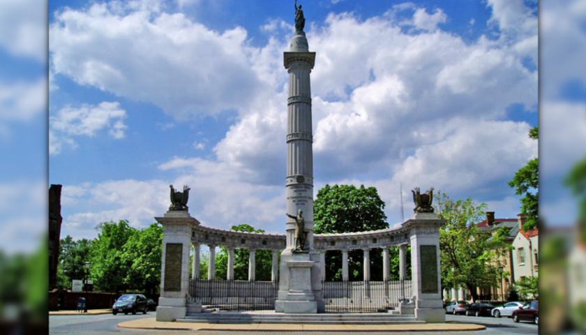 Jefferson Davis statue, Richmond, Virginia