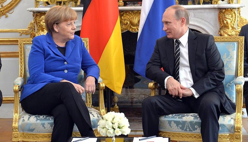 Angela Merkel, Vladimir Putin