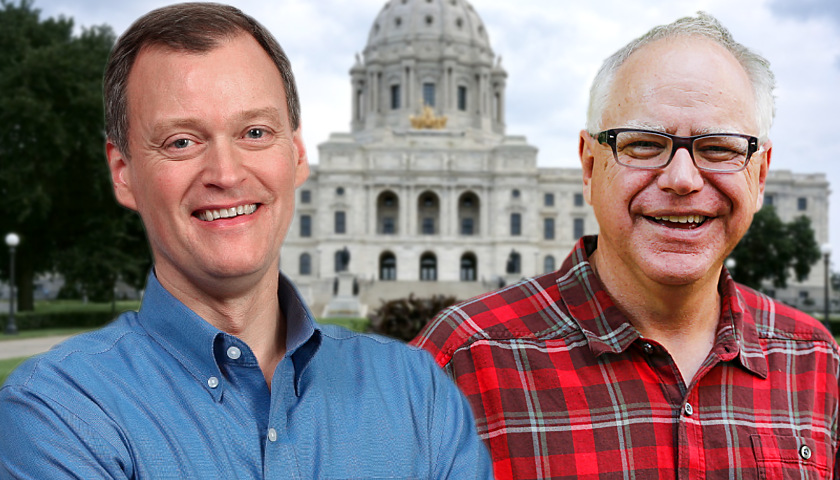 Jeff Johnson, Tim Walz