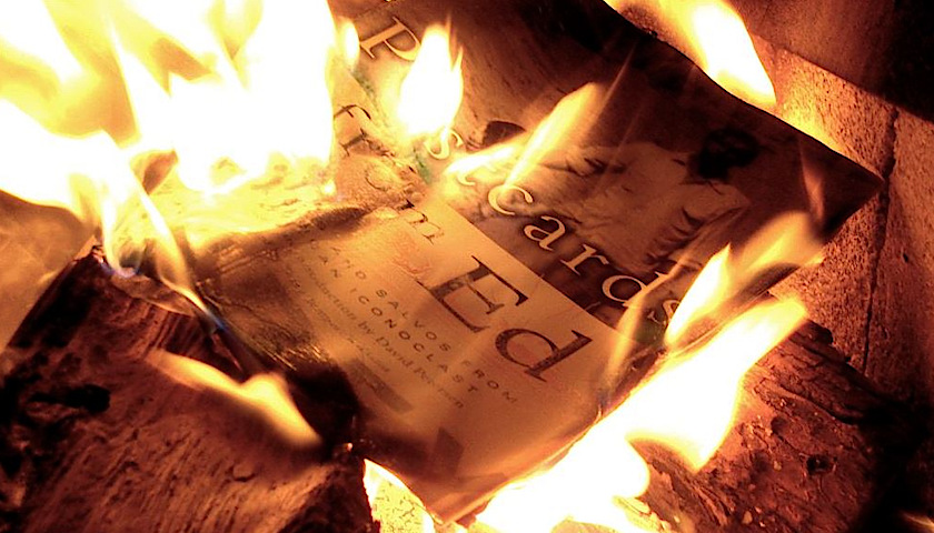 burning literature