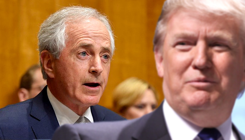 Corker Senate For Rel Committee Trump