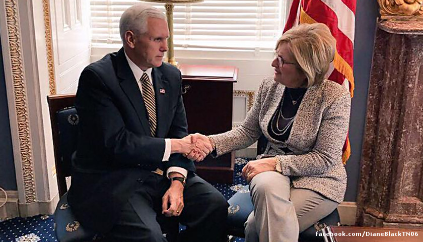 Mike Pence, Diane Black