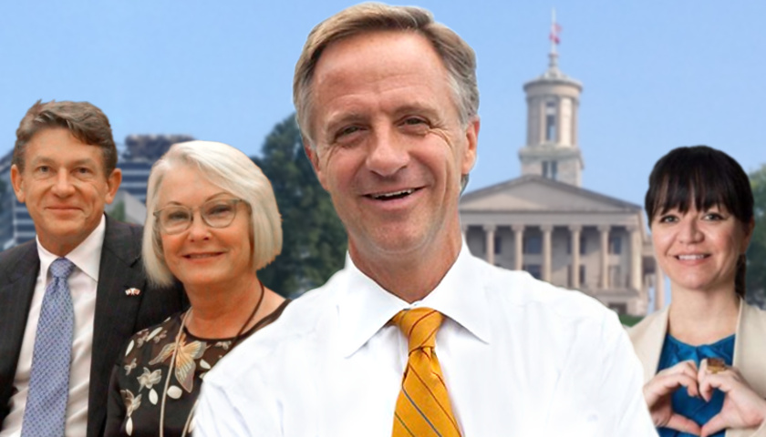 Randy and Mrs Bord, Gov Haslam, Renata Soto