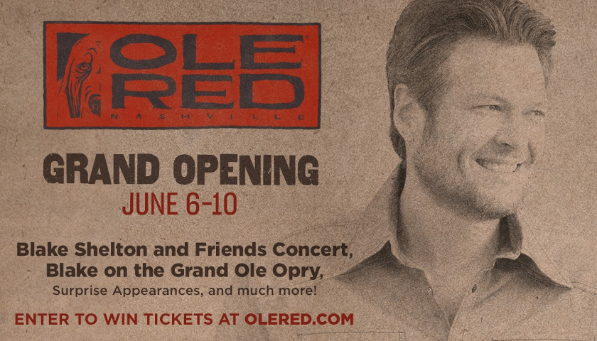 Ole Red Grand Opening with Blake Shelton