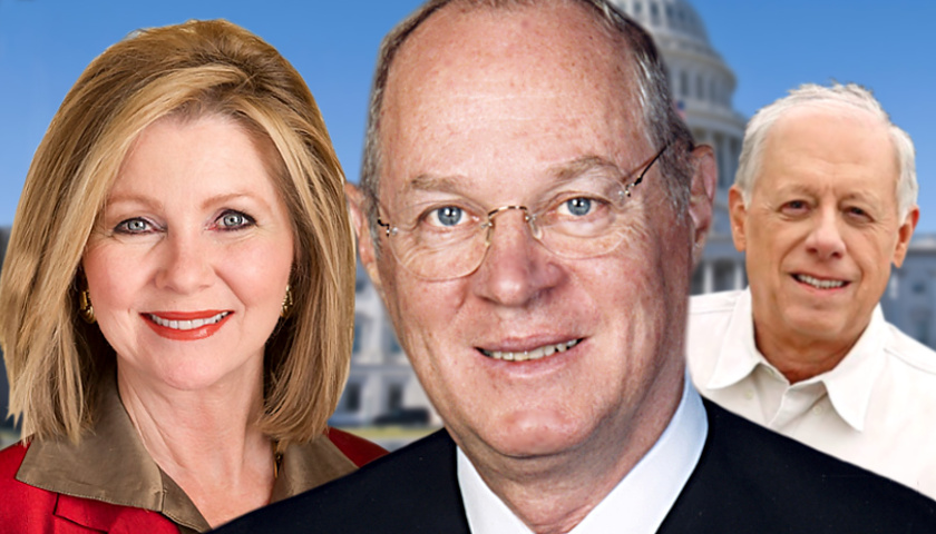 Marsha Blackburn, Anthony Kennedy, Phil Bredesen