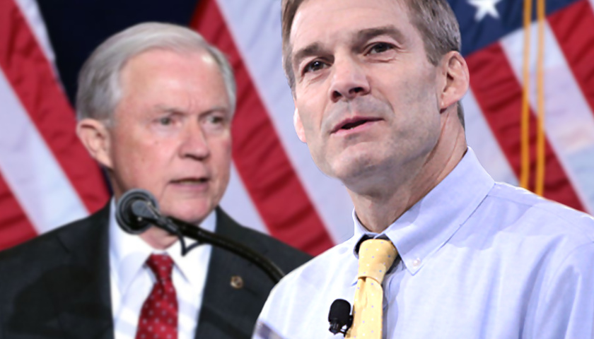 Jeff Sessions, Jim Jordan