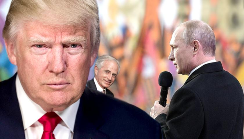 Donald Trump, Vladimir Putin, Bob Corker