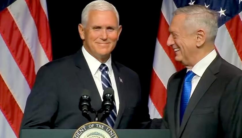 Mike Pence, James Mattis