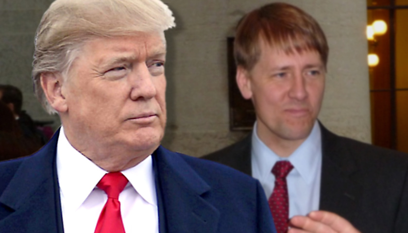 Donald Trump, Richard Cordray