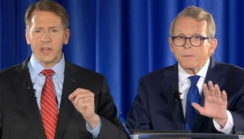 Richard Cordray, Mike DeWine