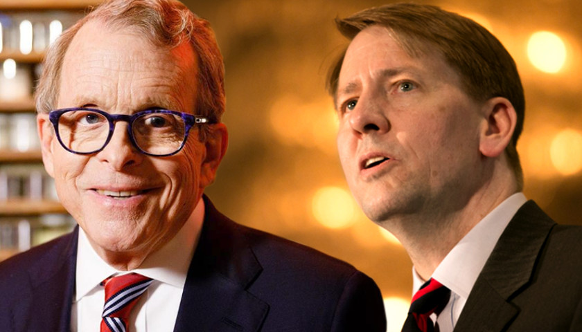 Mike Dewine, Richard Cordray