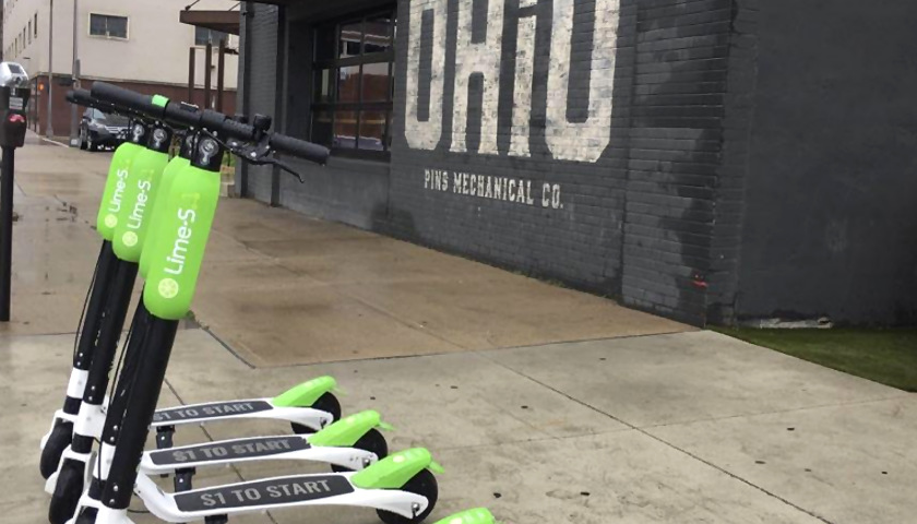 Rental Scooter Fan Wants Columbus Government to Scoot Away