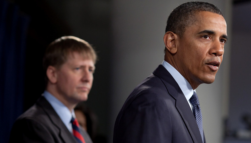 Richard Cordray and Barack Obama