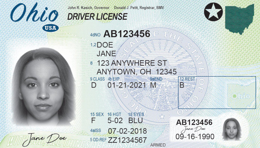 Ohio Bill Would Add People with State Driver's Licenses to