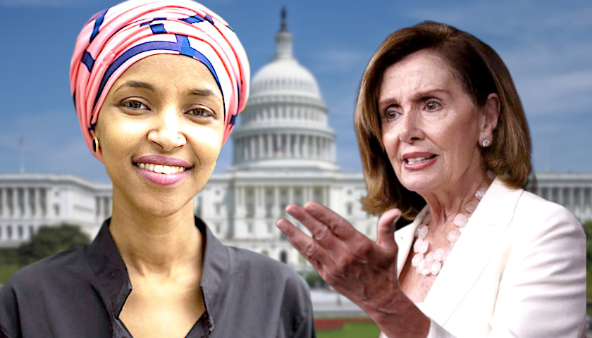 Omar and 'the Squad' Reportedly Isolated by Pelosi, Saddled With