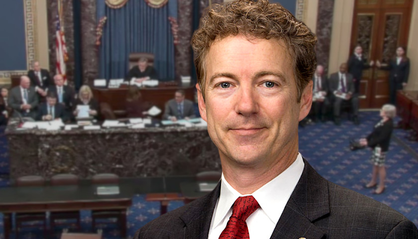 'Chilling and Disturbing': YouTube Removes Video of Rand Paul Naming 'Whistleblower' on Senate Floor - The Ohio Star