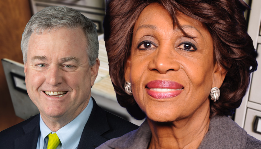 David Trone and Maxine Waters