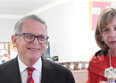 Mike DeWine and Fran DeWine