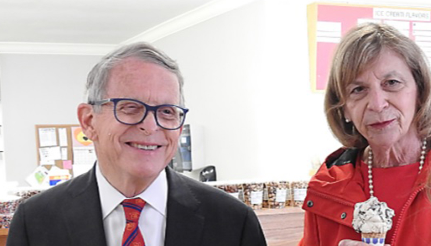 Mike DeWine and Fran DeWine