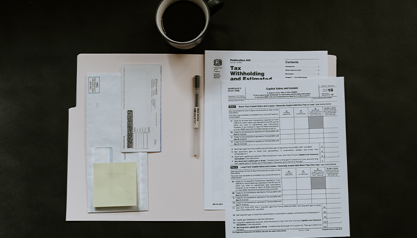 Tax withholding forms