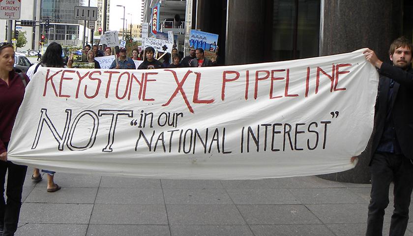 Anti Keystone XL pipeline citizens