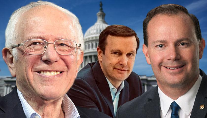 Bernie Sanders, Chris Murphy and Mike Lee (U.S. Senators)