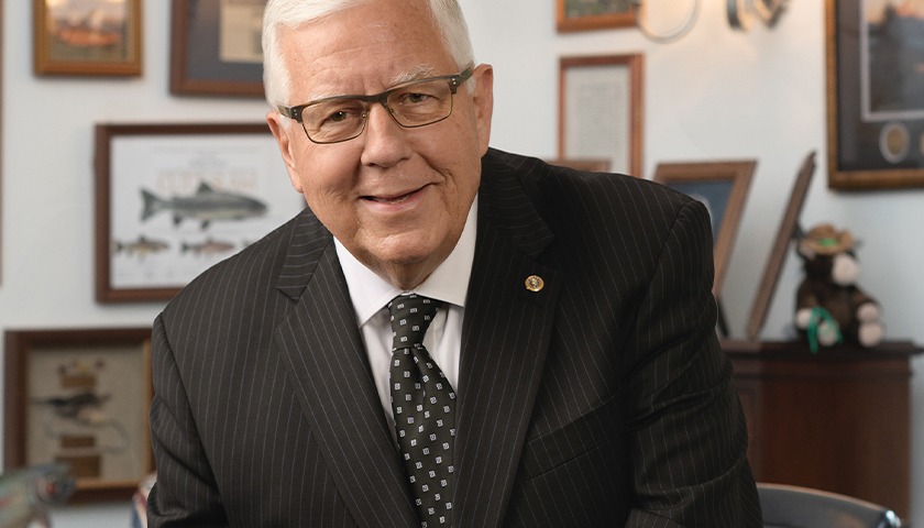 Former U.S. Senator Mike Enzi