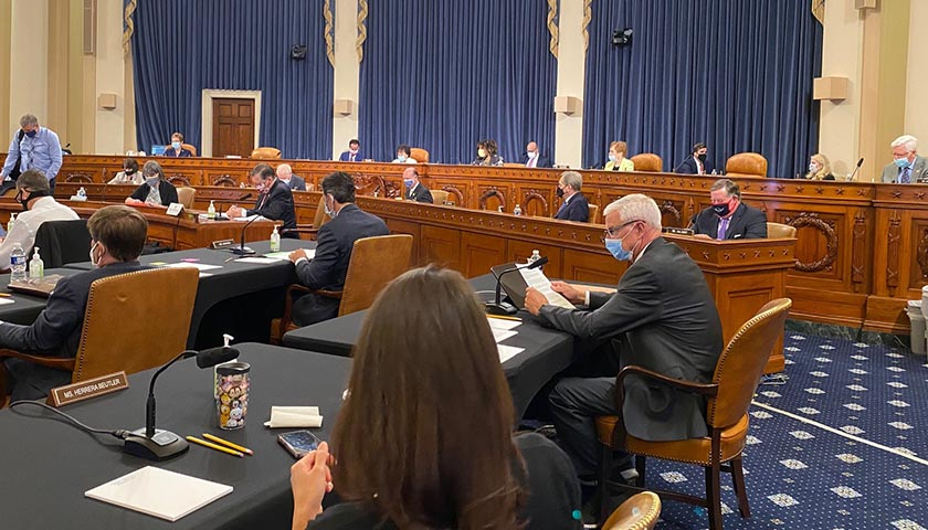 The House Appropriations Committee in meeting