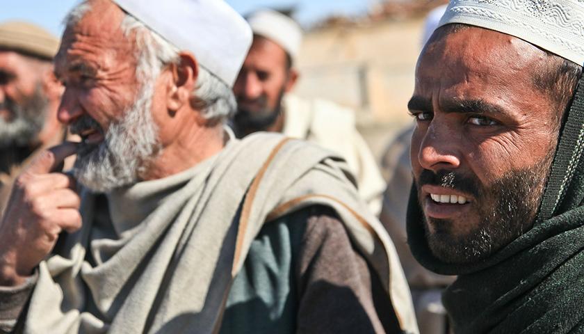 Afghan men